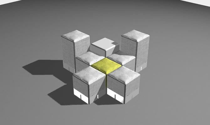 8 modules