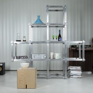 KEIGIO MODULAR DESIGN SHELF 9 frames 2+4+2+1+