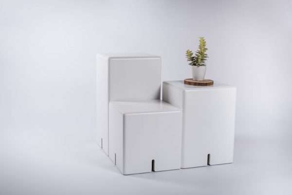MODULAR SOFA / END TABLE-BOXES