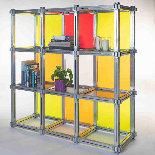 Scaffale modulare di design
