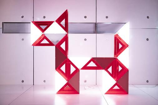 Lámparas modulares Barcelona