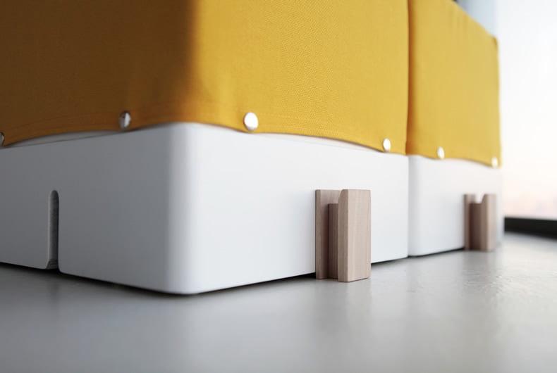 Montaje de sofá modular