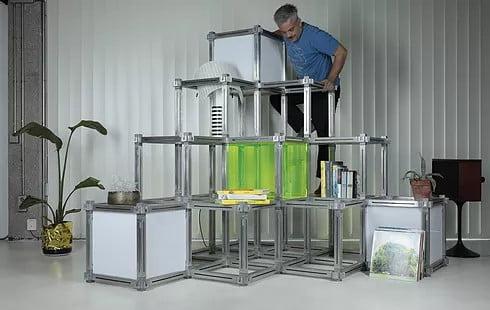 Muebles modernos modulares a medida