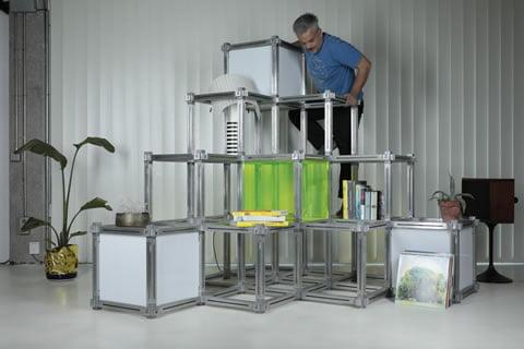 estanterías modulares